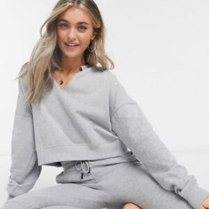 Loungewear Cropped Sweat Top